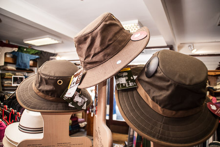 Tilly Hats at Stanleys, Clifden, Co. Galway